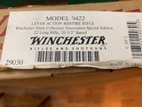 "WINCHESTER 9422, 22 LR. "" W.A.C.A. SPECIAL EDITION"" 16 "" TRAPPER BARREL, MARKED ON THE END LABEL 20 1/2"" BARREL, UNFIRED IN THE BOX - 6 of 6"