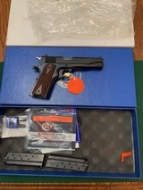 """COLT 38 SUPER, """"DALLAS ARMS COLLECTORS ASSN."""" COMMERATIVE, COMES WITH 2 MAG'S. IN THE COLT CUSTOM SHOP BOX"""
