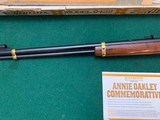 """WINCHESTER 9422, """"ANNIE OKLEY"""" NEW IN THE BOX WITH OWNERS MANUAL & HANG TAG - 5 of 6"""