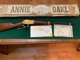 "WINCHESTER 9422, ""ANNIE OKLEY"" NEW IN THE BOX WITH OWNERS MANUAL & HANG TAG"