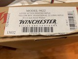 """WINCHESTER 9422, 22 LR., """"YELLOW BOY"""" TRADITIONAL, 20 1/2"""" BARREL, NEW IN THE BOX - 6 of 6"""