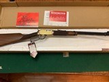 """WINCHESTER 9422, 22 LR., """"YELLOW BOY"""" TRADITIONAL, 20 1/2"""" BARREL, NEW IN THE BOX - 1 of 6"""