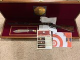"WINCHESTER 94 ""LARRY BIRD"" 38-55 CAL. COMMERATIVE, WITH BOWIE KNIFE, NEW IN PRESENTATION CASE"