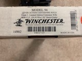 """WINCHESTER 94 """"LIMITED EDITION CENTENNIAL RIFLE"""" 30-30 CAL. 26"""" BARREL, NEW UNFIRED IN BOX - 7 of 7"""