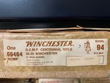 """WINCHESTER 94, 30-30 CAL., """"ROYAL CANADIAN MOUNTED POLICE CENTENNIAL"""" RIFLE, 22"""" BARREL, NEW IN BOX - 6 of 6"""