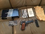 SMITH & WESSON 52-2, 38 CAL. NEW UNFIRED 100% COND. IN FACTORY COSOMOLINE, IN THE BOX