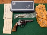 """SMITH & WESSON 51, 22 MAGNUM, 4"""" BLUE, 99% COND. IN THE BOX WITH OWNERS MANUAL, TOOL KIT, ETC."""