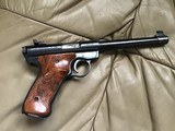 """RUGER MARK I, TARGET, 22 LR. 6 7/8"""" BARREL, 99+% COND. COMES WITH 2 SETS OF GRIPS, APPEARS UNFIRED, IN THE BOX - 4 of 7"""