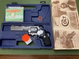 "COLT ANACONDA 45 LC., 6"" STAINLESS, NEW UNFIRED IN THE BOX, WITH OWNERS MANUAL, HANG TAG, ETC. - 1 of 4"