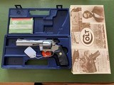 """COLT ANACONDA 44 MAGNUM, 6"""" STAINLESS, NEW UNFIRED, UNTURNED IN THE BOX"""