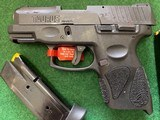 TAURUS G2C, 9MM, NEW UNFIRED, 100% COND. INTHE BOX - 2 of 4