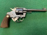 """COLT OFFICERS 22 LR., 6"""" BARREL, SERIAL# 22XXX, EXC. COND. - 2 of 5"""