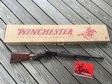 """WINCHESTER 9410, 410 GA., PACKER MODEL WITH 20"""" BARREL, AND MOST DESIRABLE TANG SAFETY, NEW UNFIRED IN THE BOX WITH OWNERS MANUAL"""