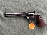 """COLT PYTHON 38 SPC. 8"""" TARGET, FACTORY NICKEL, APPEARS UNFIRED SINCE LEAVING THE FACTORY IN 1981, 100% COND. IN THE BOX - 2 of 6"""