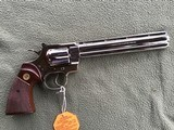 """COLT PYTHON 38 SPC. 8"""" TARGET, FACTORY NICKEL, APPEARS UNFIRED SINCE LEAVING THE FACTORY IN 1981, 100% COND. IN THE BOX - 3 of 6"""