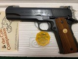 "COLT ACE 22 LR. 5"" BARREL, MFG. 1979, NEW UNFIRED, 100% COND. IN THE BOX WITH OWNERS MANUAL, HANG TAG, ETC. - 2 of 4"