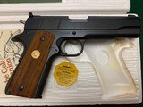 "COLT ACE 22 LR. 5"" BARREL, MFG. 1979, NEW UNFIRED, 100% COND. IN THE BOX WITH OWNERS MANUAL, HANG TAG, ETC. - 3 of 4"