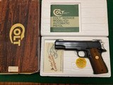 "COLT ACE 22 LR. 5"" BARREL, MFG. 1979, NEW UNFIRED, 100% COND. IN THE BOX WITH OWNERS MANUAL, HANG TAG, ETC. - 1 of 4"