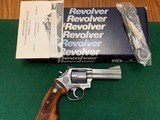 """SMITH & WESSON 686, 357 MAGNUM, """" CONSERVATION NATURAL RESOURCES 75 YEARS 1911 TO 1986"""" ONE OF 100, NEW IN THE BOX"""