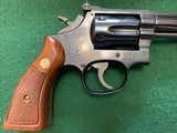 """SMITH & WESSON 17-4, 22 LR. 6"""" BLUE, NEW UNFIRED 100% COND. IN THE BOX WITH OWNERS MANUAL, CLEANING KIT, ETC. - 2 of 8"""