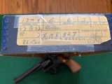 """SMITH & WESSON 17-4, 22 LR. 6"""" BLUE, NEW UNFIRED 100% COND. IN THE BOX WITH OWNERS MANUAL, CLEANING KIT, ETC. - 8 of 8"""