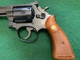 """SMITH & WESSON 17-4, 22 LR. 6"""" BLUE, NEW UNFIRED 100% COND. IN THE BOX WITH OWNERS MANUAL, CLEANING KIT, ETC. - 3 of 8"""