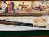 WINCHESTER 94 CHIEF CRAZY HORSE 38-55 CAL. NEW IN THE BOX WITH OWNERS MANUAL, HANG TAG, ETC. - 4 of 6