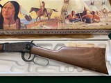 WINCHESTER 94 CHIEF CRAZY HORSE 38-55 CAL. NEW IN THE BOX WITH OWNERS MANUAL, HANG TAG, ETC. - 3 of 6