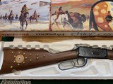 WINCHESTER 94 CHIEF CRAZY HORSE 38-55 CAL. NEW IN THE BOX WITH OWNERS MANUAL, HANG TAG, ETC. - 2 of 6