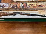 WINCHESTER 94 CHIEF CRAZY HORSE 38-55 CAL. NEW IN THE BOX WITH OWNERS MANUAL, HANG TAG, ETC. - 1 of 6