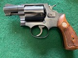 SMITH & WESSON PRE 36, 38 SPC., FLAT LATCH, MFG. 1952, 95% COND. IN THE RARE S&W RED BOX - 5 of 7