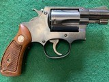 SMITH & WESSON PRE 36, 38 SPC., FLAT LATCH, MFG. 1952, 95% COND. IN THE RARE S&W RED BOX - 4 of 7