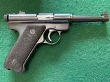 """RUGERSTANDARD 22LR. 4 1/2"""" BARREL, MFG. 1965, 95% COND., COMES WITH 2 MAG'S AND OWNERS MANUAL IN RUGER RED BOX - 2 of 6"""