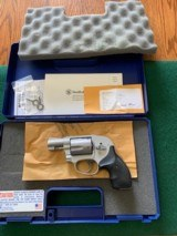 """SMITH & WESSON 638-3, 38 SPC. 1 7/8"""" BARREL, LIKE NEW IN THE BOX"""