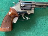 "SMITH & WESSON 17 NO DASH, 22 LR., 6"" BARREL, 98% COND."