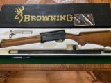 """BROWNING A-5, 12 GA., 26"""" INVECTOR, WITH 3 CHOKE TUBES & WRENCH & OWNERS MANUAL, NEW UNFIRED 100% COND. IN THE BOX"""