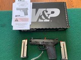 """SMITH & WESSON M&P SHIELD, EZ TS 9MM CAL., 3.675"""" BARREL, COMES WITH 2 MAG'S, OWNERS MANUAL, HANG TAG, ETC., NEW UNFIRED IN THE BOX"""
