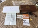"""COLT SAA, NEW FRONTIER 44 SPC. CAL., 7 1/2"""" BLUE/CASE COLOR, 3RD GENERATION, NEW UNFIRED IN THE BOX - 1 of 8"""