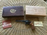 """COLT TROOPER MARK III, 357 MAGNUM, 6"""" BLUE, NEW IN THE BOX"""