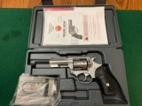 "RUGER SP-101, 327 FEDERAL MAGNUM CAL., STAINLESS, 3"" BARREL, LIKE NEW IN THE BOX WITH OWNERS MANUAL"