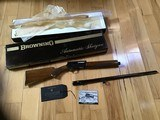"BROWNING BELGIUM SWEET-16, 26"" IMPROVED CYLINDER, VENT RIB, MFG.1971, NEW UNFIRED, NEVER BEEN ASSEMBLED, IN THE BOX"