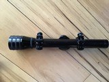 REDFIELD 2 1/2 X RIFLE SCOPE WITH DUPLEX CROSSHAIRS. COMES WITH REDFIELD GROOVED RECEIVER MOUNTS FOR 22 RIFLE, 100% COND.