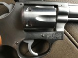 "SMITH & WESSON, 63 NO DASH, 22/32 KIT GUN, 4"" STAINLESS, 22 LR. LIKE NEW IN BOX WITH OWNERS MANUAL & OIL PAPER - 3 of 6"