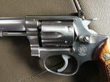 "SMITH & WESSON, 63 NO DASH, 22/32 KIT GUN, 4"" STAINLESS, 22 LR. LIKE NEW IN BOX WITH OWNERS MANUAL & OIL PAPER - 4 of 6"