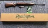 REMINGTON 700 CLASSIC, 300 SAVAGE CAL. NEW UNFIRED IN THE BOX WITH OWNERS MANUAL