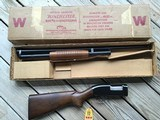 """WINCHESTER MODEL 12, 12 GA., 28"""" MOD. CHOKE, NEW UNFIRED 100% COND. IN THE BOX WITH HANG TAG"""