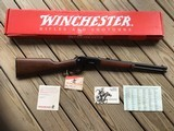 """WINCHESTER 94, """"TRAPPER"""" 30-30 CAL., 16"""" BARREL, 1894-1994 INSCRIPTION, NEW UNFIRED IN THE BOX WITH HANG TAG & PAPERS"""