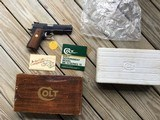 COLT GOVERNMENT SERIES 70, 9MM, LIKE NEW IN THE BOX WITH OWNERS MANUAL & HANG TAG