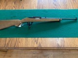 RUGER 96, 17 HMR. CAL., LEVER ACTION RIFLE, 99% COND.
