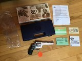 """COLT ANACONDA 45 LC. CAL., 6"""" STAINLESS, NEW UNFIRED IN THE BOX. VERY SCARCE IN 45LC. CAL."""
